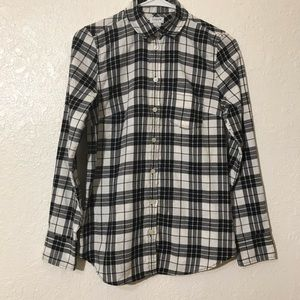 J. Crew Flannel Plaid Shirt